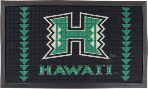 "University of Hawaii Door Mat 30"" X 18"""