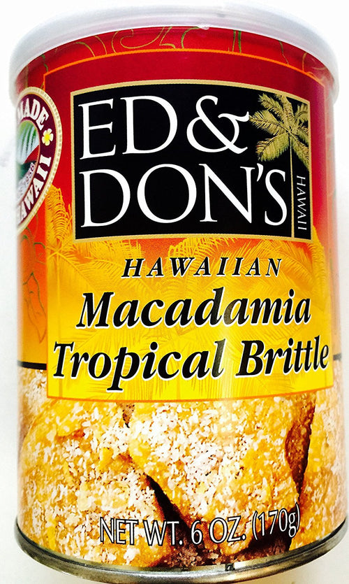 Ed & Don's Hawaii Hawaiian Brittle