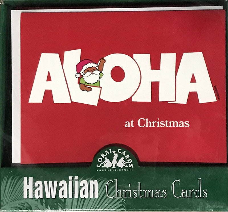Hawaiian Holiday Christmas Greeting Cards (Aloha at Christmas)