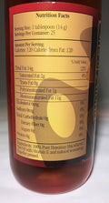 Pele's Fire Macadamia Nut Oil infused with Chilis by Oils of Aloha - 12.7 oz.
