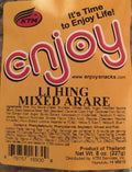 Enjoy Hawaii Snacks Li Hing Mixed Arare Rice Crackers 8 oz
