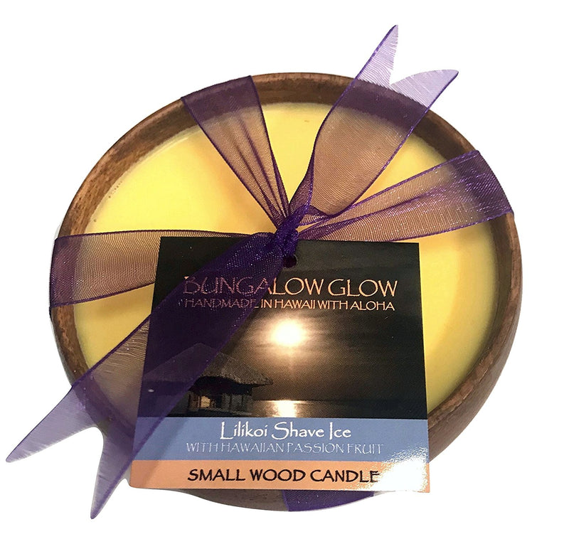 Bungalow Glow Hawaiian Poi Bowl Soy Candle (Choose your scent)