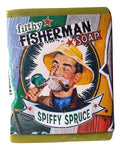 Filthy Fisherman all natural glycerin BAR SOAP Spruce Fir Pettitgrain by Filthy Farmgirl