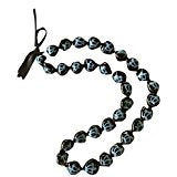 Hawaiian Kukui Nut Lei Necklace (Blue Honu (Turtle), 32)