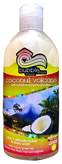 Bubble Shack Coconut Volcano All in One Wash 8.5OZ