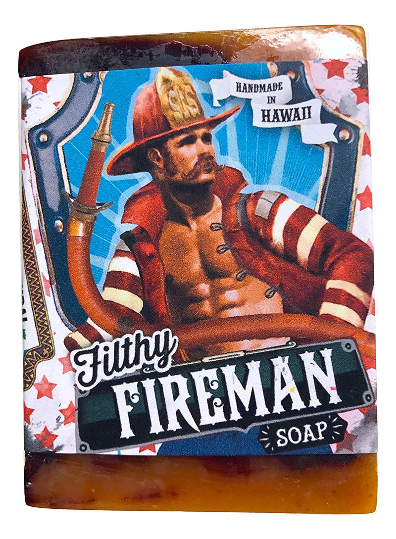 Filthy Farmgirl Handmade Hawaiian Soap (Large, Filthy Fireman)