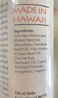 Oils of Aloha Hawaii Kukui Sunset Massage Oil Tropic Breeze 16 Ounces