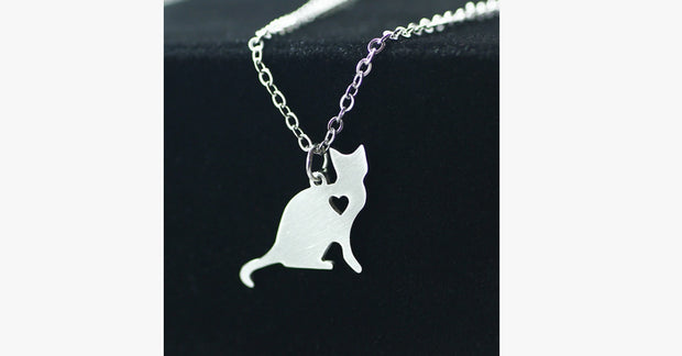 Cat Stainless Steel Necklace