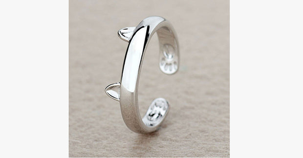 Paw & Ears Cat Ring