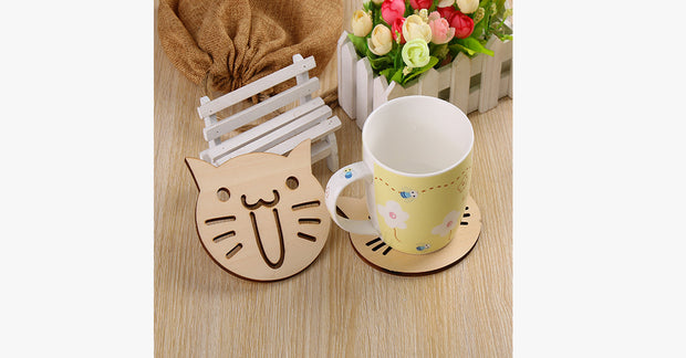 Lolcats Wooden Coasters