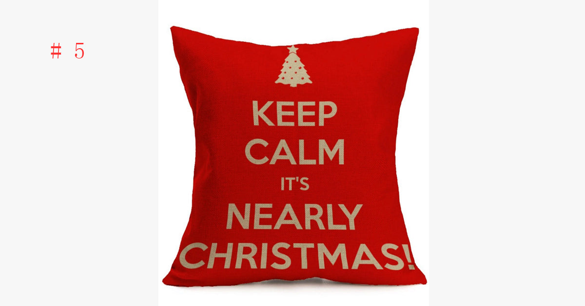 Christmas pillow Pillowcase