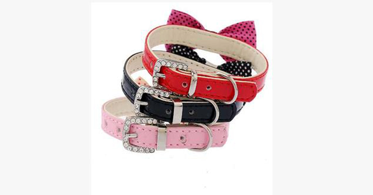Pet Cat Neck Strap Collar
