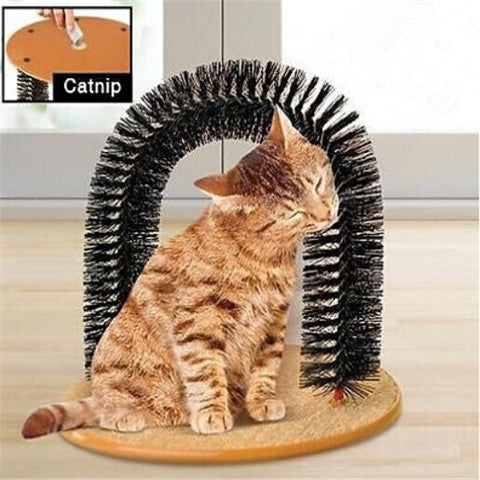 Self Grooming Cat Massage Toy