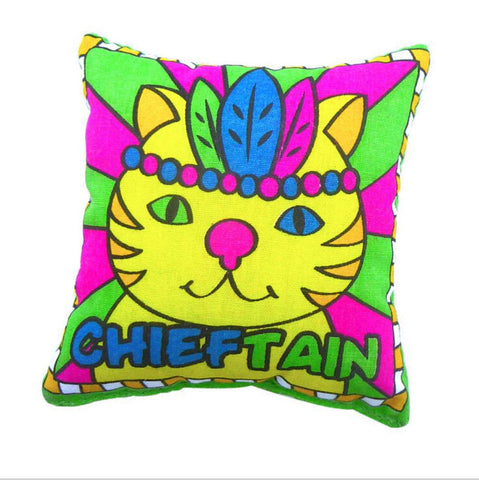 Chieftain Cat Mint Pillow Toys