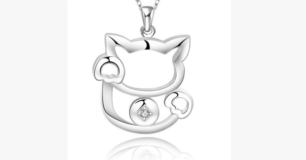 Plutus Cat Necklace