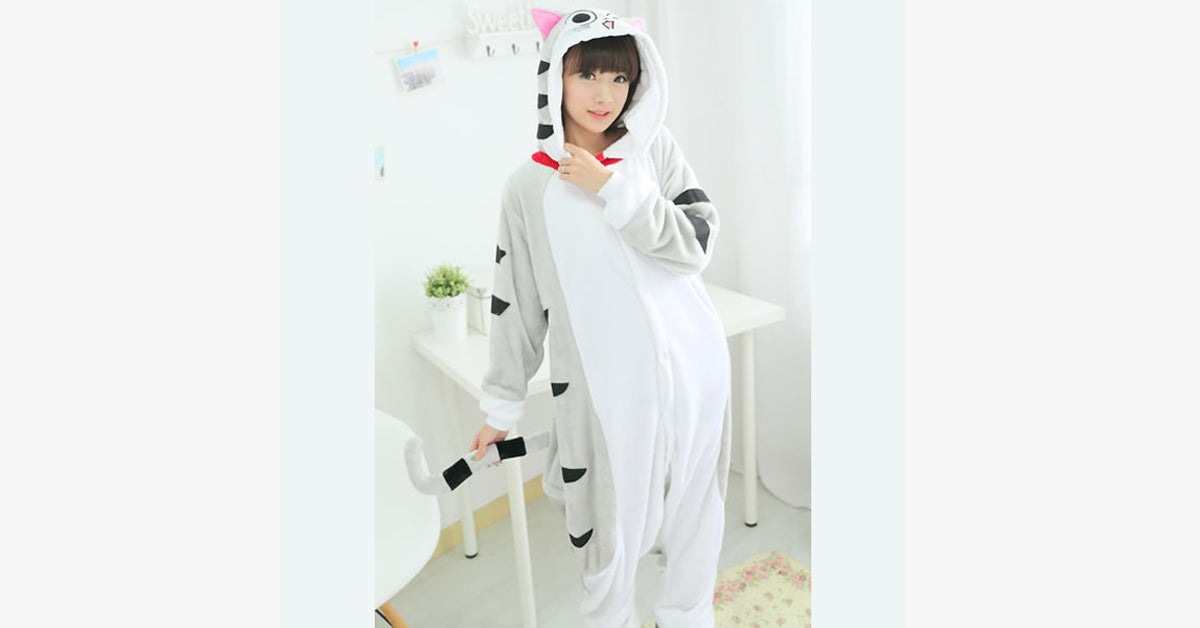 Cat Pajama Suit