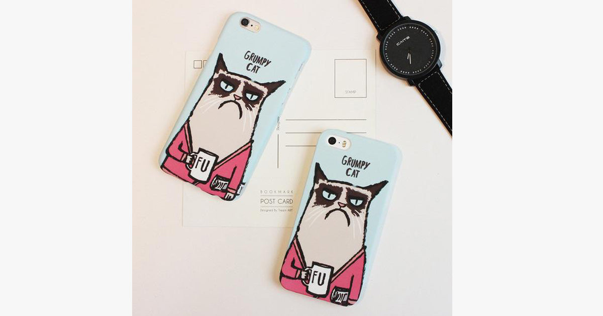 Grumpy Cat Mobile Phone Shell