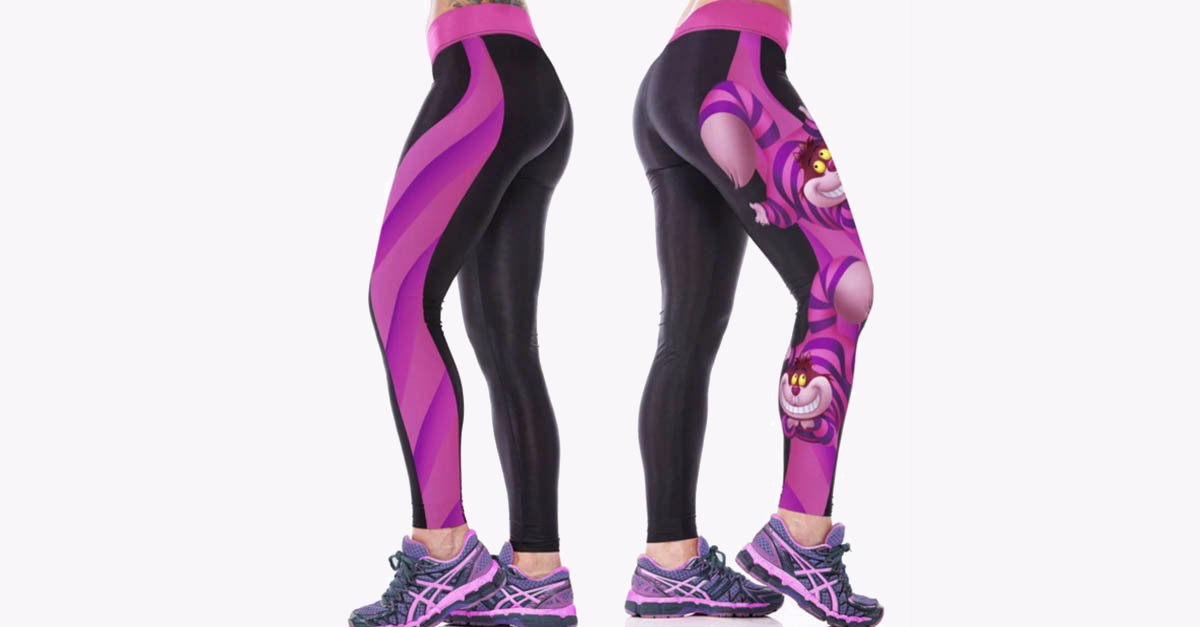 3D Digital Printing Funny Cat Sports Pants