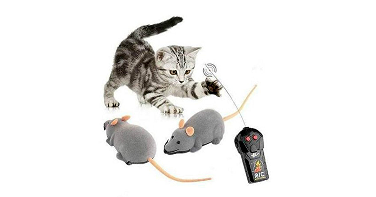 Wireless Remote Control Rat Mouse Toy For Cat