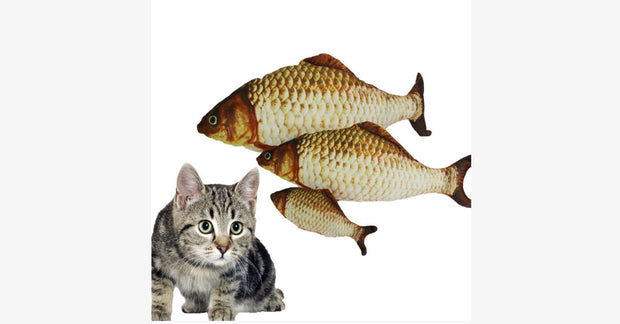 The Cat  Toy Plush Pillow Carp