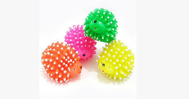 Cute Hedgehog Shape Cat Toys Random Colors