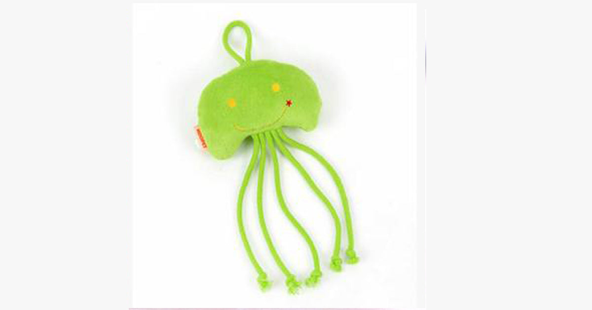 Jellyfish Toys Cat Clean Teeth