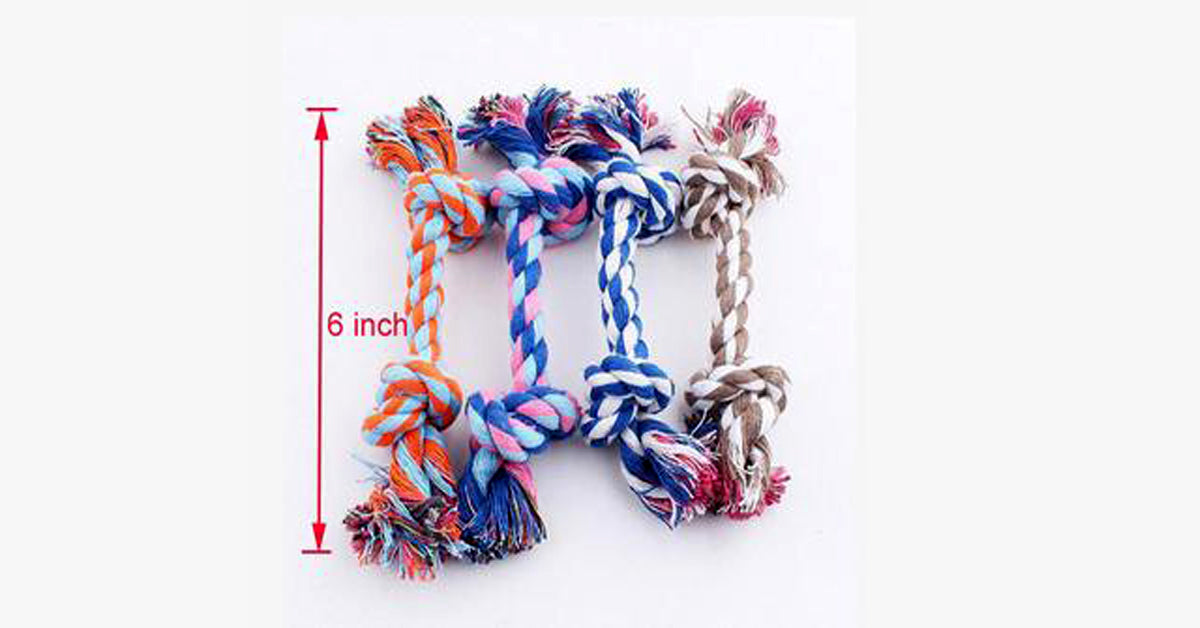 Colorful Rope For Cat Training-Random Color