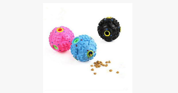Cat Toy Trumpet Sound Leakage Food Ball