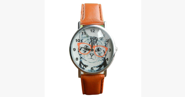 Cat Vogue Analog Quartz Leather Watch