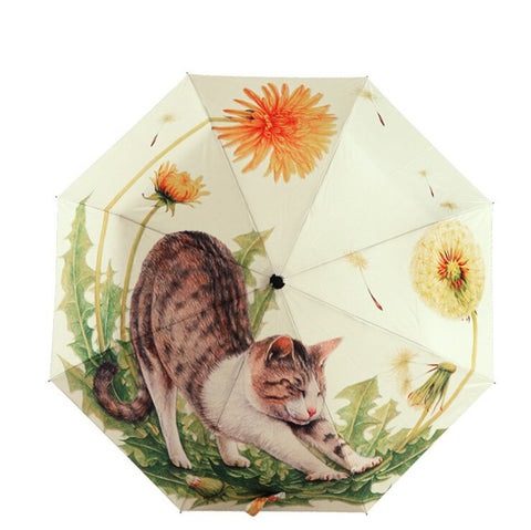 Big Lazy Cat Umbrella