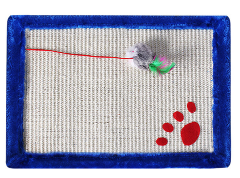 Sisal Cat Scratch Pad with Cat Toys