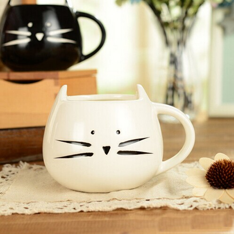 Ceramic Cat Coffee Mug
