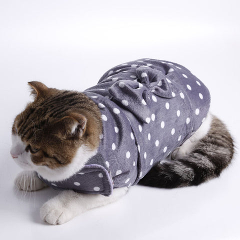 Grey Cat Decompression Clothes