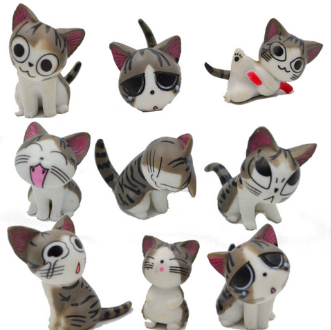 The Little Cat Full 9 Doll Ornaments