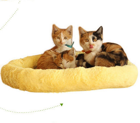 Yellow Four Seasons Cloud Nest for Cat