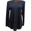 Tani Long Sleeve Swing top in Midnight Marle