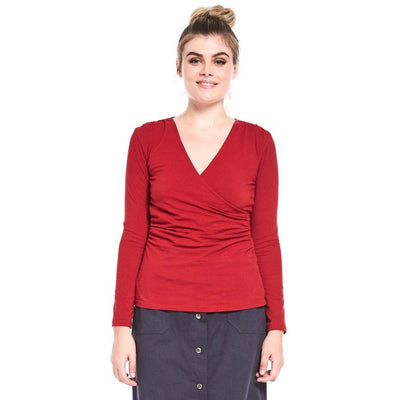 MahaShe Ayla Top in Chilli Red