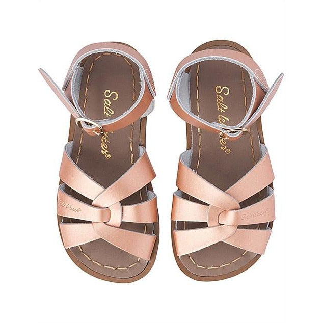 Salt Water Original Sandals in Rose Gold