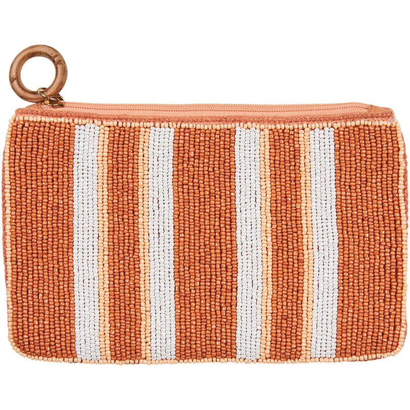 eb&ive Union Pouch in Clay Stripe