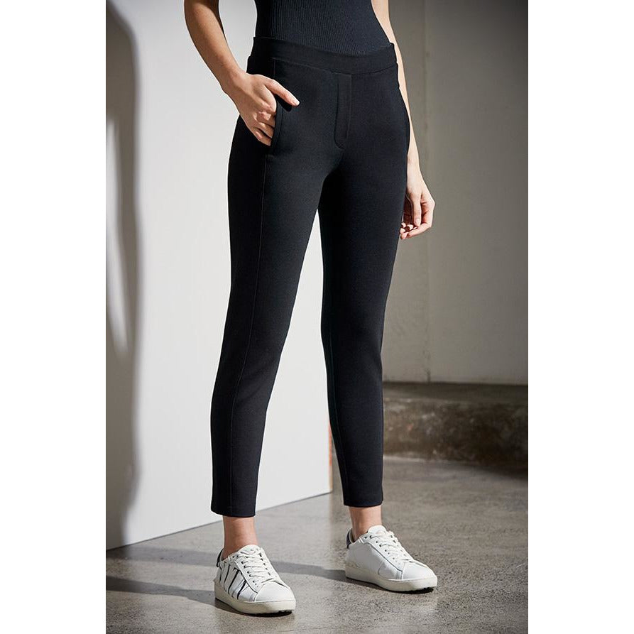 Lania The Label Scout Ponti Pant in Black