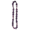 Rare Rabbit Embrace Long Necklace in Aubergine