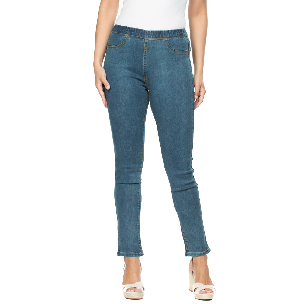 Threadz Full Length Pull On Jean