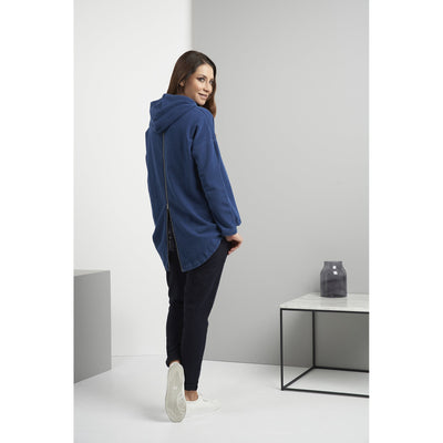 Foil Losing Your Cool Sweats Top in Indigo