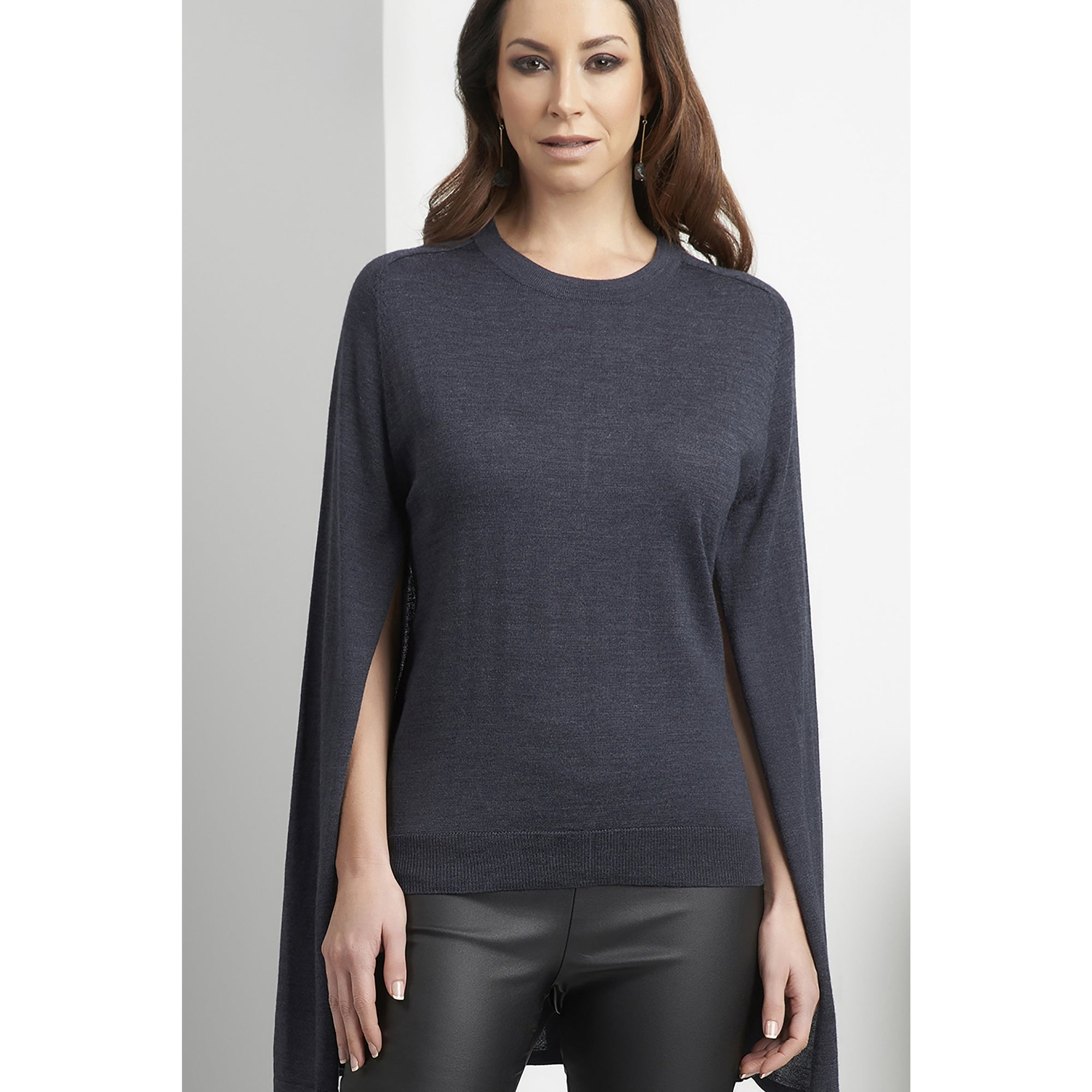 Foil Right To Bare Arms Knit top in Twilight