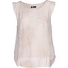 M Made In Italy Woven Sleeveless Top in Beige