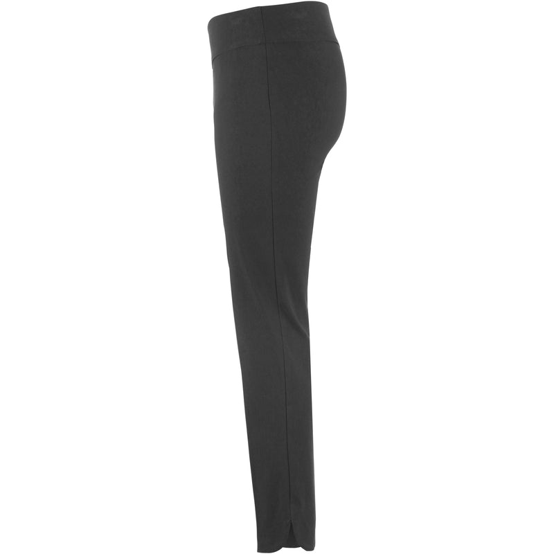 Up! Pant Techno Basic Pant Petal Slit in Black