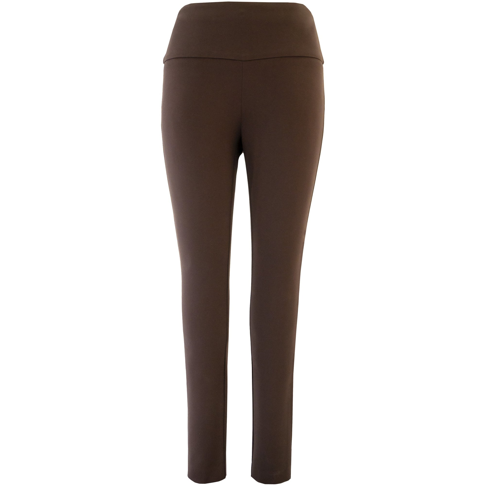 Up! Pant Ponte Illusion Pant in Expresso