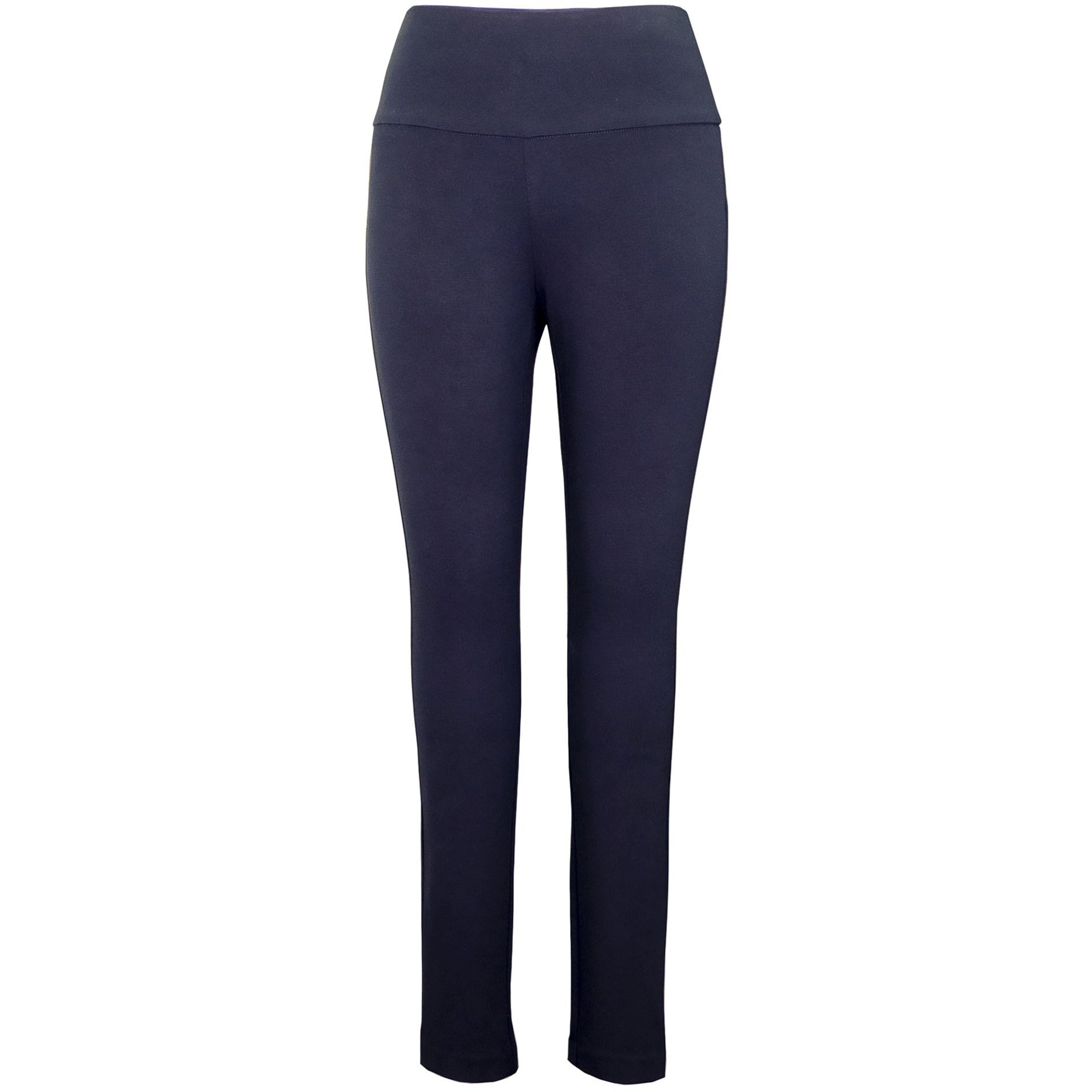 Up! Pant Ponte Illusion Pant in Navy