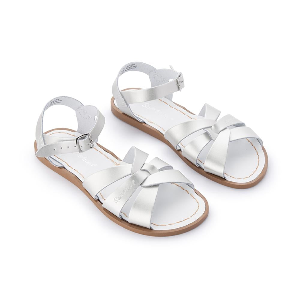 Salt Water Original Sandals in Silver