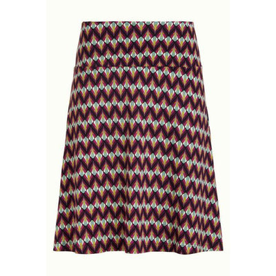 King Louie Border Skirt Namaste Vivid Purple